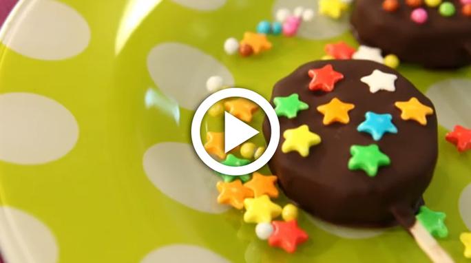Çikolatalı Kivi Çubukları