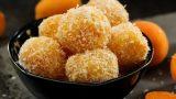 Meyve Sulu Atıştırmalık: Kayısılı Enerji Topları