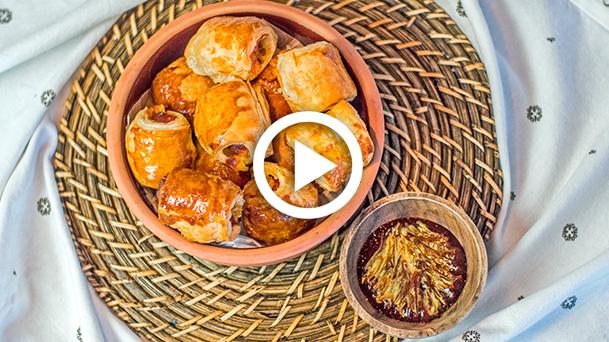 cheddar-peynirli-sosisli-rulolar