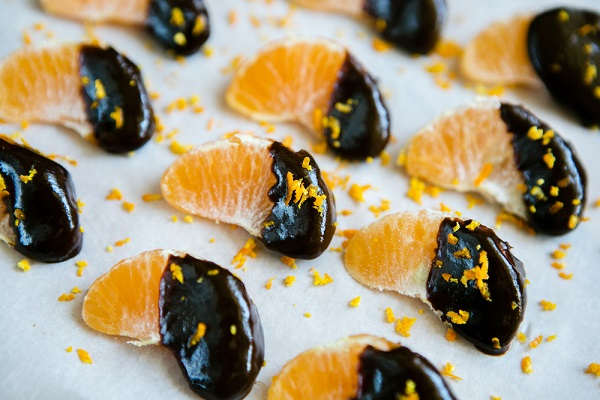 Çikolatalı Mandalina Dilimleri Tarifi