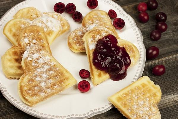 Reçelli Waffle